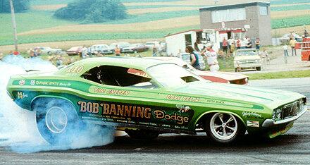 Bob Banning Motors Funny Car